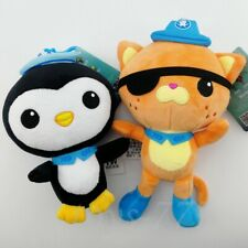 2X Octonauts Kwazii Peso 8'' Plush Toys Anime Stuffed Animal Christmas gift Doll
