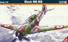 Bloch MB-152 (RAF, français, Grec & LUFTWAFFE MKGS) #D219 1/72 MISTERCRAFT