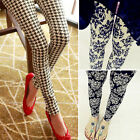 Fashion New Women Skinny Print Leggings Stretchy Sexy Jeggings Pencil Pants