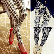 Fashion Women Ladies Skinny Print Leggings Stretchy Jeggings Pencil Gift Nice