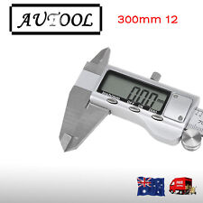 300mm 12 Electronic Digital Vernier Caliper Stainless LCD Gauge with  AU seller