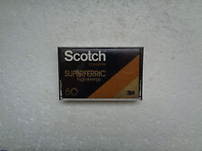 Vintage Audio Cassette SCOTCH Superferric 60 * Rare From 1979 *