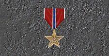 Bronze Star Medal  License Plate -LP 288