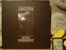 ZAHGURIM Moral Rearmament LP/UK 1985/Industrial/Psychic TV/Bourbonese Qualk/Coil