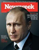 Newsweek Magazine Vladimir Putin NEW