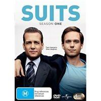 SUITS Season 1 DVD 4-Disc Set NEW