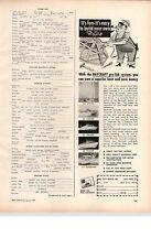 1959 PAPER AD Bay City Motor Boat Baycraft 17' 20' 22' 24' 28' Cruiser Michigan