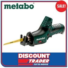 Metabo 10.8V Lithium-Ion Cordless Reciprocating Sabre / Jig Saw Powermaxx ASE SK