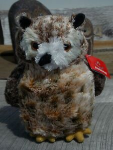 Aurora Osmond The Great Horned Owl Soft Plush Toy Stuffed Animal Cute Squishy