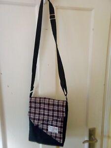 3 items HARRIS TWEED shoulder bag Make up purse  TIssue purse