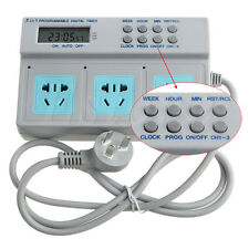 3in1 High Power AU Plug Microcomputer Control Programmable Digital Timer Socket