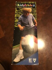 NIKKEN KIDSTRIDES EQL-FIR MAGNETIC INSOLES #2010 SZ 8 CHILD-1 YOUTH - NEW IN PKG