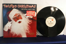 Bob Rivers Comedy Corp, Twisted Christmas, Critique Records 90671-1, 1987, PROMO