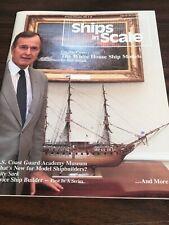 1991 Jan/Feb Ships in Scale Magazine President Bush White House Ship Models!!