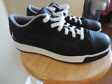 Michael Jordan Nike Air Black White Shoes Size 12 Jordans Used COOL! EXCELLENT!