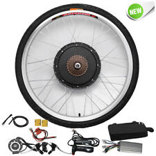 "26""1000W 48V Electric E-bike Bicycle Conversion Rear Wheel Cycling Hub Motor Kit"