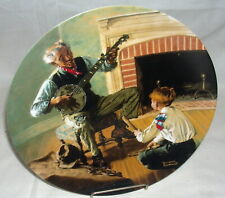 1989 Rockwell's Heritage Collection Plate The Banjo Player, Coa Nrfb