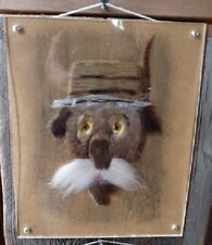 Small original Art Deco plexiglass frame - Mixed Arts - Real fur