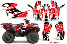 ATV Graphics Kit Quad Decal Wrap For Yamaha Grizzly 550/700 2015-2016 ATTACK RED