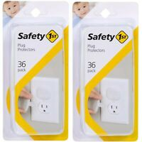 Safety 1st HS229 72 Pack Secure Press Plug Protectors (Outer Packaging Damaged)