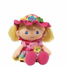 Gund April Springtime Dolly 13 Inch Plush Doll Removable Easter Bonnet and Dress
