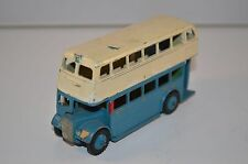 Dinky Toys 290 Double Decker bus in repainted condition