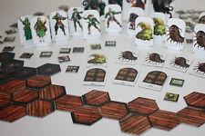 130 x Teile & Zubehör für Hexagon-Map für Rollenspiel & Tabletop-DSA-d20