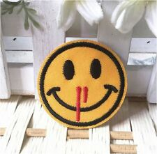 Iron on Sew on Patches Emoji Embroidered Cloths and Accessories