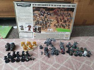 Games Workshop warhammer 40k army dark vengeance  full box set and extra marines