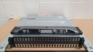 Dell EqualLogic PS6110X 2U 14.4TB (24x 600GB 10K SAS) 10GbE iSCSI SAN Array SFP+