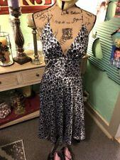 Womens Size 7/8 Alyn Paige Silk Slip Dress Halter A Line