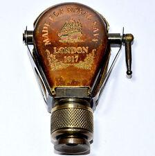 Antique vintage Solid Brass Traveling Telescope Binocular Monocular Antique 1917