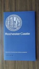 Rochester Castle Guide Book 47 Pages & 2 Maps 1972 Dept. of the Environment