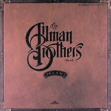 ALLMAN BROTHERS-DREAMS. RARITIES! COMPLETE 4-CD/BOOK/'MOSAIC SIZE' USED BOX SET.