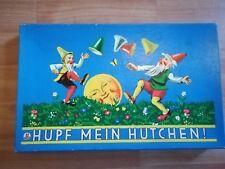 Hüpf mein Hütchen Geschicklichkeitsspiel sehr alt ca 1955 Komplett