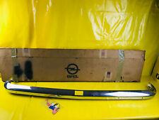 NEU ORIG Opel Kadett C Stoßstange hinten Modelle Blinker oben Chrom Stoßfänger #