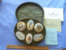 Vintage Limited Bilston & Battersea Enamels World Wildlife Box Collection # 26
