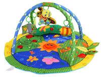 Baby Light & Musical Garden Bugs Adventure Gym Activity Playmat Play Mat Toy