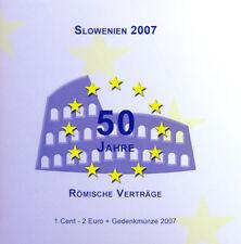 EURO KMS Slowenien 2007 - 50 Jahre Römische Verträge
