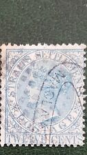 Straits Settlements Postage Stamp Twelve Cents SG No.15