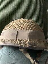 More details for british army ballistic nylon combat helmet mk6a - size medium