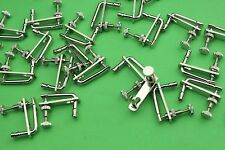 100pcs new style violin nickel plated string fine tuners 3/4-4/4 accessories