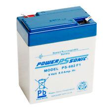 Powersonic Ps-682 Long Battery Wp66a Lead Acid Batteries
