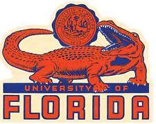 Florida Gators  University   College   Vintage Looking  Travel Decal Sticker