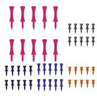10PC Durable Plastic Golf Tees Golf Nail Limit Pin Golf Practicing Equipment