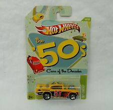 HotWheels Diecast Cars of the Decades (The 50's) '57 Chevy - NEW - Sealed