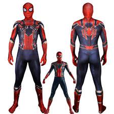 Bodysuit Avengers Infinity War Iron Spider-Man Cosplay Costume