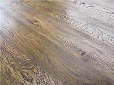 SAMPLE: Antique Brown Engineered Oak Hard Wax Oil Wood Flooring -14x3x190x1900mm