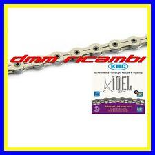 Catena KMC X10 EL Bici MTB BDC TREKING 10V Silver compatibile SHIMANO SRAM X10EL