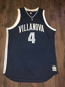 VILLANOVA GAME USED BASKETBALL JERSEY TEAM ISSUED PROCUT NIKE